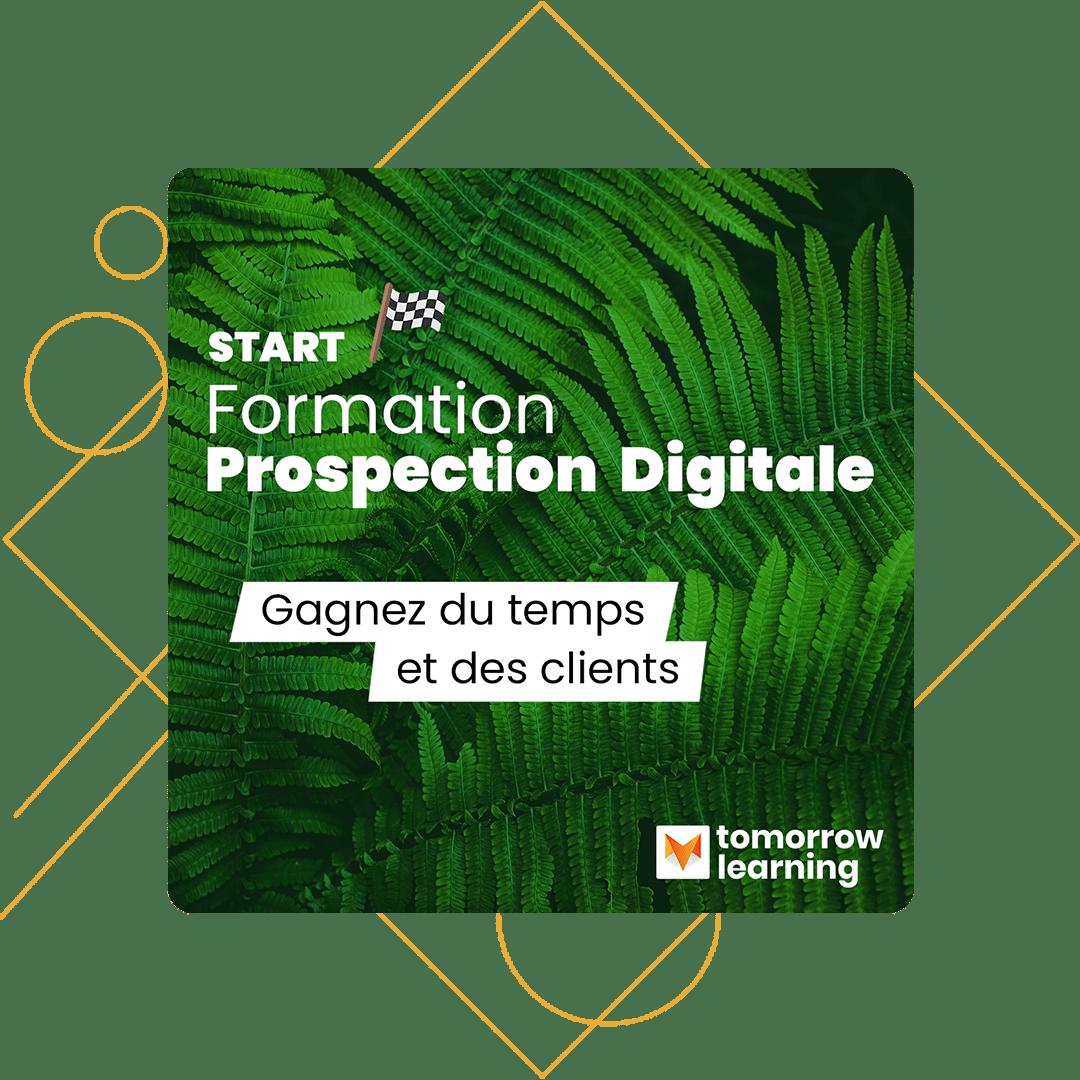 Notre formation Prospection digitale